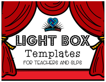 Light Box Templates