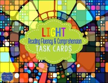 Light & Color Task Cards for Fluency and Comprehension