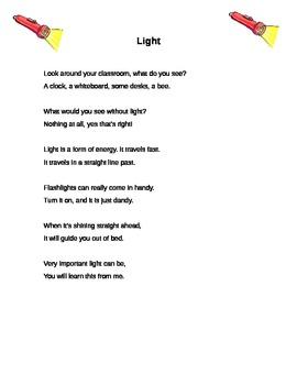 Light Energy Poem