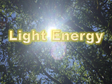 Light Energy PowerPoint Readers' Theater With Notes and Te