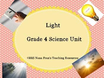 Light - Grade 4 Science Unit