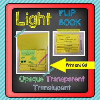 Light: Opaque, Transparent, and Translucent