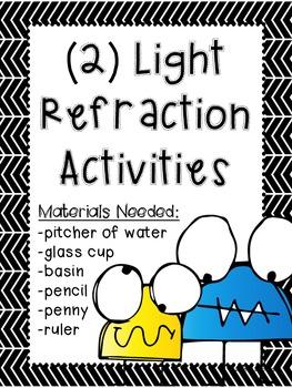 Light Refraction Activities