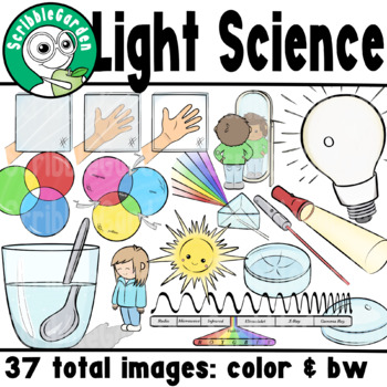 Light Science ClipArt