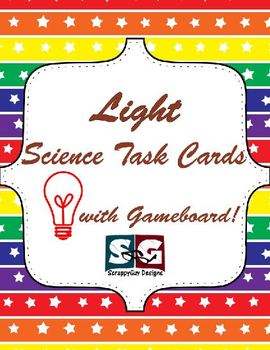 Light - Physical Science Task Cards