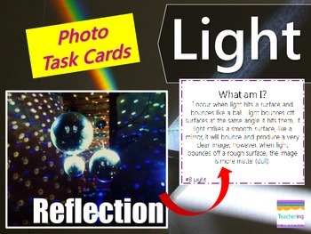 Light Task Cards {with PHOTOS for Differentiation}