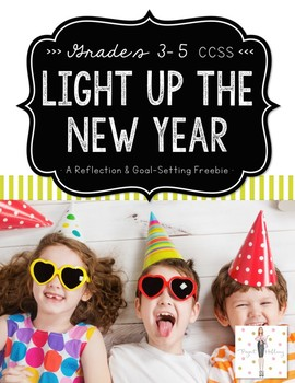 Light Up the New Year: Lift-the-Flap Reflection Freebie fe