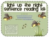 Light Up the Night Sentence Reading Kit