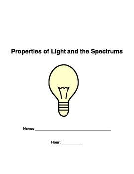 Light Worksheet Packet