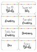 Light and Bright Classroom and Math Manipulative Label Set