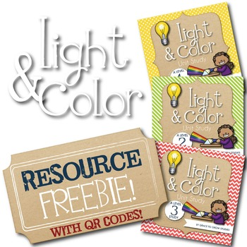 Light and Color Unit Study Resources Page