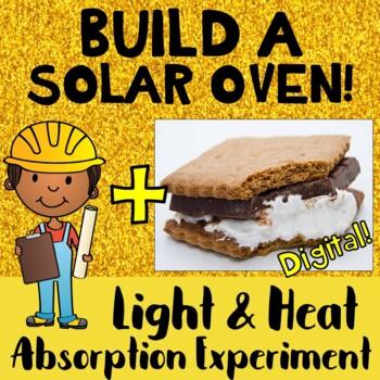 Light & Heat Energy Absorbtion Experiment Solar Oven STEM