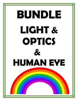 LIGHT AND OPTICS AND HUMAN EYE BUNDLE