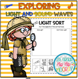 Light and Sound Waves...NGSS 1st Grade