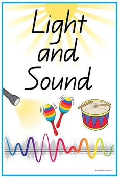 Light and Sound Waves Vocabulary Crossword