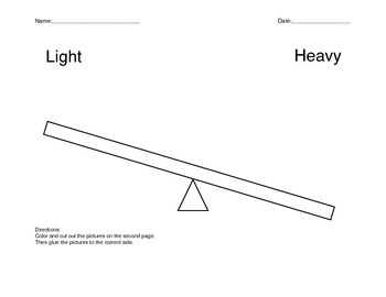 Light or Heavy?