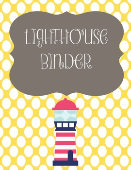 Lighthouse Binder Cover