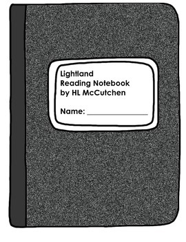 Lightland (Guided Reading Notebook: Vocabulary, Questions,
