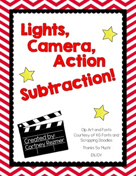 Lights, Camera, Action Subtraction!