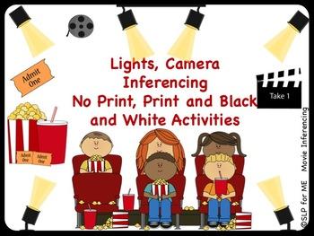 Lights, Camera, Inference! No Print & Print Movie Scenes L
