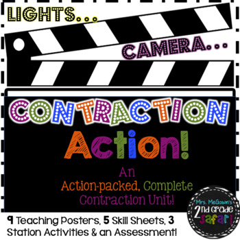 Lights...Camera…Contraction Action! {An action-packed Comp