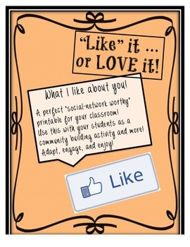 Like It... Or Love It! -- A Social Network Worthy Printabl