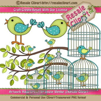 Lil Birdy 1 ClipArt - Commercial Use
