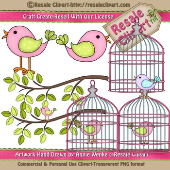 Lil Birdy 5 ClipArt - Commercial Use