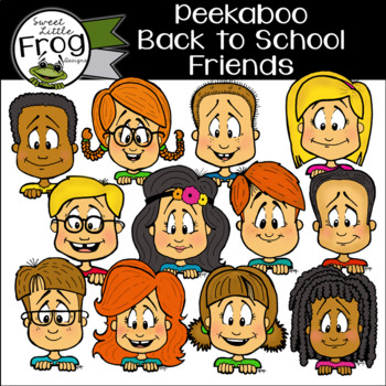 Friends Peek a Boo Pack (c) Shaunna Page 2015