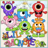 Lil Monsters Clip Art - Aliens Clip Art - CU Clip Art & B&W