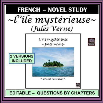 L'île mystérieuse  – Jules Verne (The mysterious island)