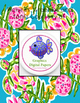 """Lilly Inspired """"Turtle Cove"""" Editable Student Folder Covers"""