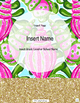 Lilly Pulitzer Inspired Binder Covers and Tabs: Editable!