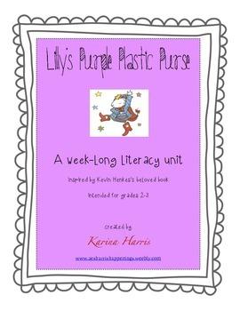 Lilly's Purple Plastic Purse Literacy Unit