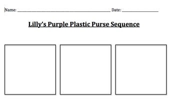 Lilly's Purple Plastic Purse Sequencing
