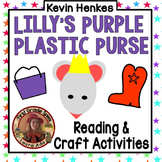 Lilly's Purple Plastic Purse Sequencing Craftivity CCSS Re