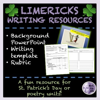 Limericks: Background PowerPoint and Rubric