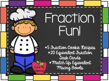Fraction Fun {3 Hands On Activities}