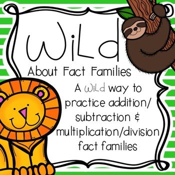 Wild About... Fact Families
