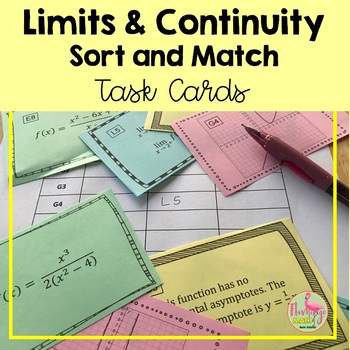 Calculus: Limits and Continuity Sort & Match Activity