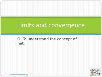 Limits and convergence