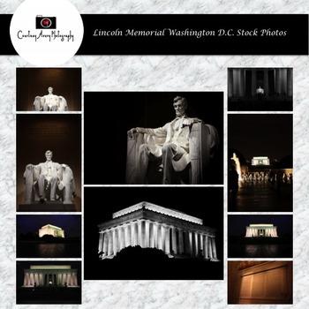Lincoln Memorial Washington D.C. Stock Photos