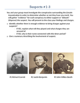 Lincoln's Assassination Conspiracy