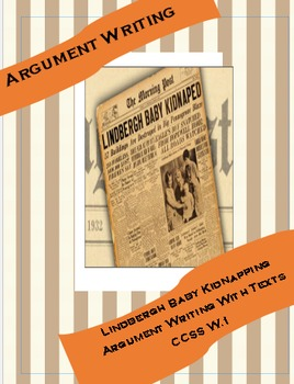 Lindbergh Baby Argument Writing