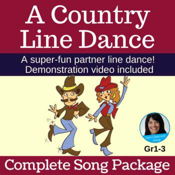 "Line Dance - Complete Music Bundle ""A Country Line Dance"""