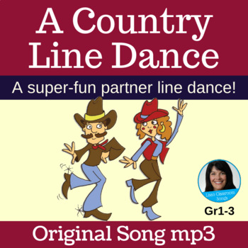 """Line Dance - Song mp3 (with vocals) - """"A Country Line Danc"""