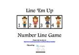 Line 'Em Up Number Line Game 1-20