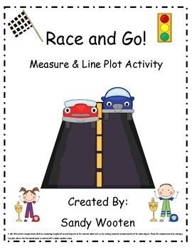 2.MD.9 Race and Go! Measure and Line Plot Small Group or M