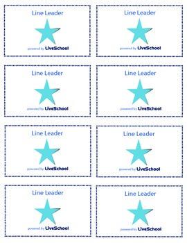 Line Leader Reward Cards