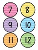 Line Up Numbers For Your Classroom Floor